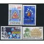 Estampillas De Francia 4 Valores De 1995 - Farmacia