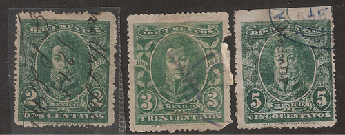 estampillas fiscales usdas  de 1891  documentos