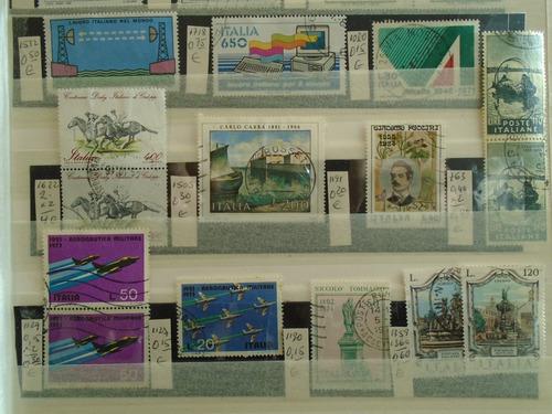 estampillas italia.26 sellos. eu 10. impecables.