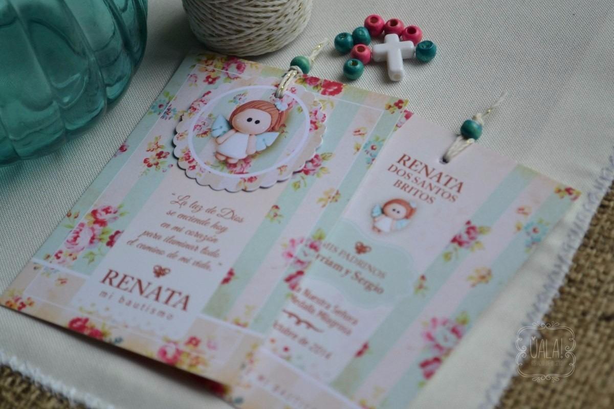 estampitas tarjetas bautismo originales packxu
