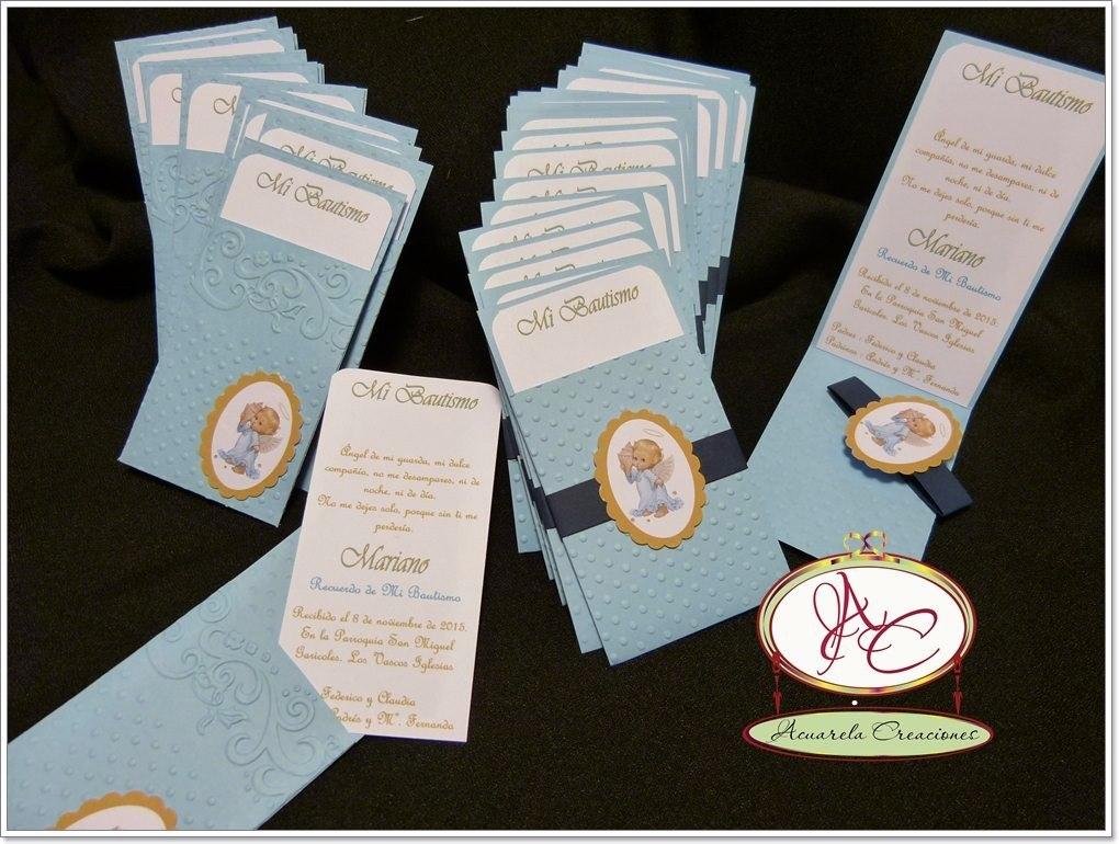 Estampitas tarjetas bautismo comuni n a cuarela - Como hacer tarjetas de comunion ...