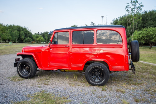 estanciera jeep-ika 1963 - excelente estado!
