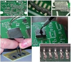 estaño en pasta xg-50 reballing. smd. reparaciones facil