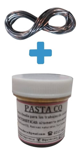 estaño para soldar 60/40-0,80 + pasta para soldar 7 g