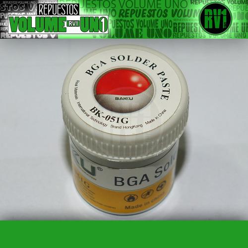 estaño pasta liquida soldadura bga baku bk-051g