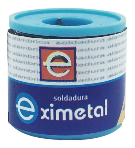 estaño rollo eximetal 1mm para soldar 250gr 1/4 kilo 1mm