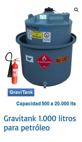 estanque de petroleo de 1000 litros