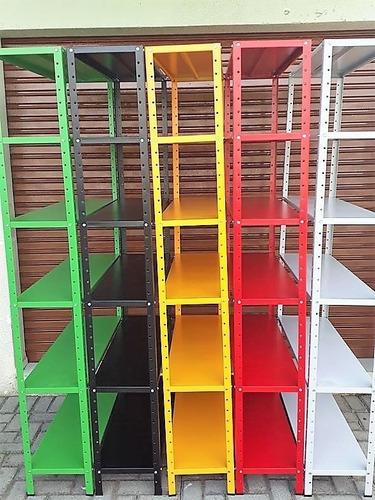 estante aço, 06 prateleiras - branca 198x92x30, curitiba,pr