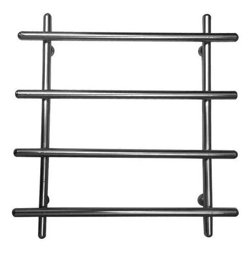 estante aço 3 prateleiras cromada 90 cm + descanso de panela