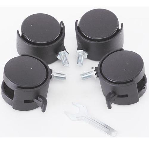 estante aço 5 prateleiras preta aramada 180 cm c rodinha