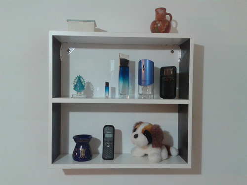 estante - biblioteca - flotante - decorativos! 1 ó 2 colores