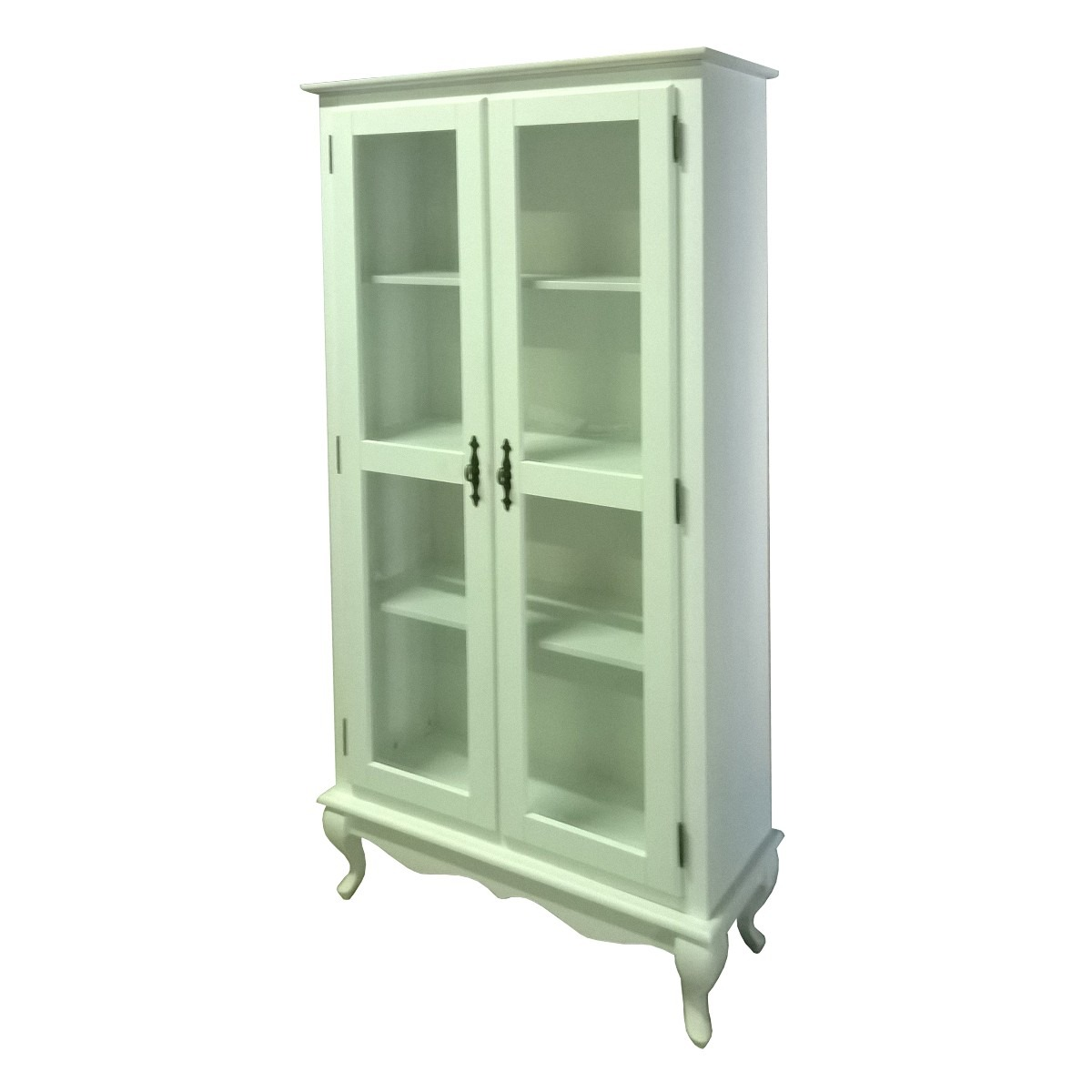 Estante Cristaleira Com Duas Portas De Vidro R$ 798 00 em Mercado  #578348 1200x1200 Banheiro Com Duas Portas