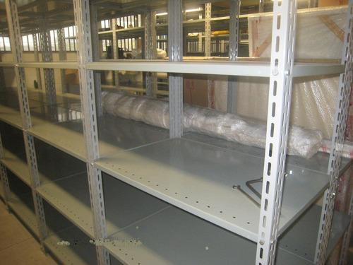 estante de aço 58 cm x 92 cm x 2 m alt c 4 prateleiras