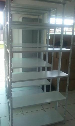 estante de aço com 6 bandeja  cinza,  barato/ promoção