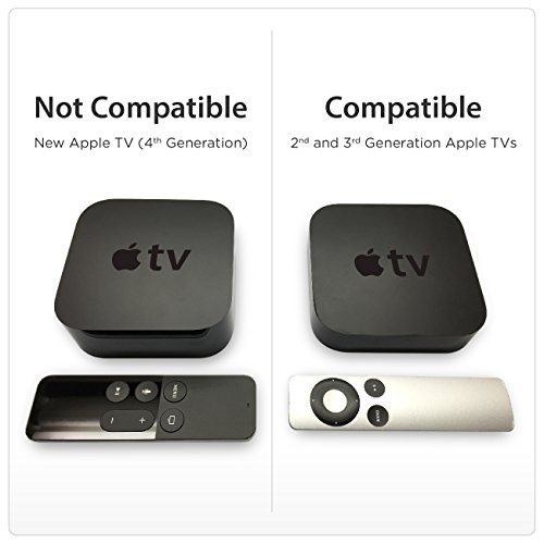 estante de montaje totalmount apple tv (compatible con telev