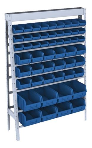 estante em aço para caixa box (bin) mista 53 - nº 3, 5 e 7