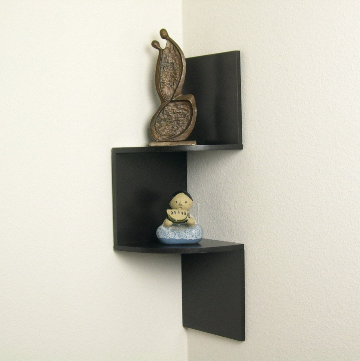 Estante esquinero moderno y elegante corner shelf vbf for Esquineros para paredes