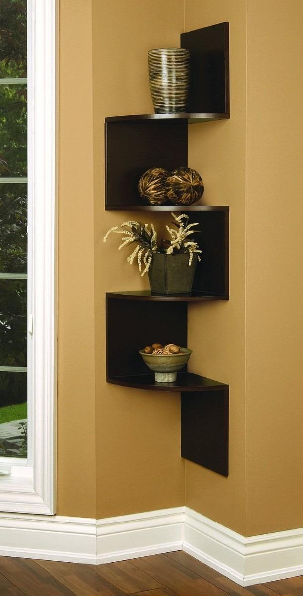 Estante esquinero moderno y elegante nexxt vbf casa - Muebles de madera modernos ...