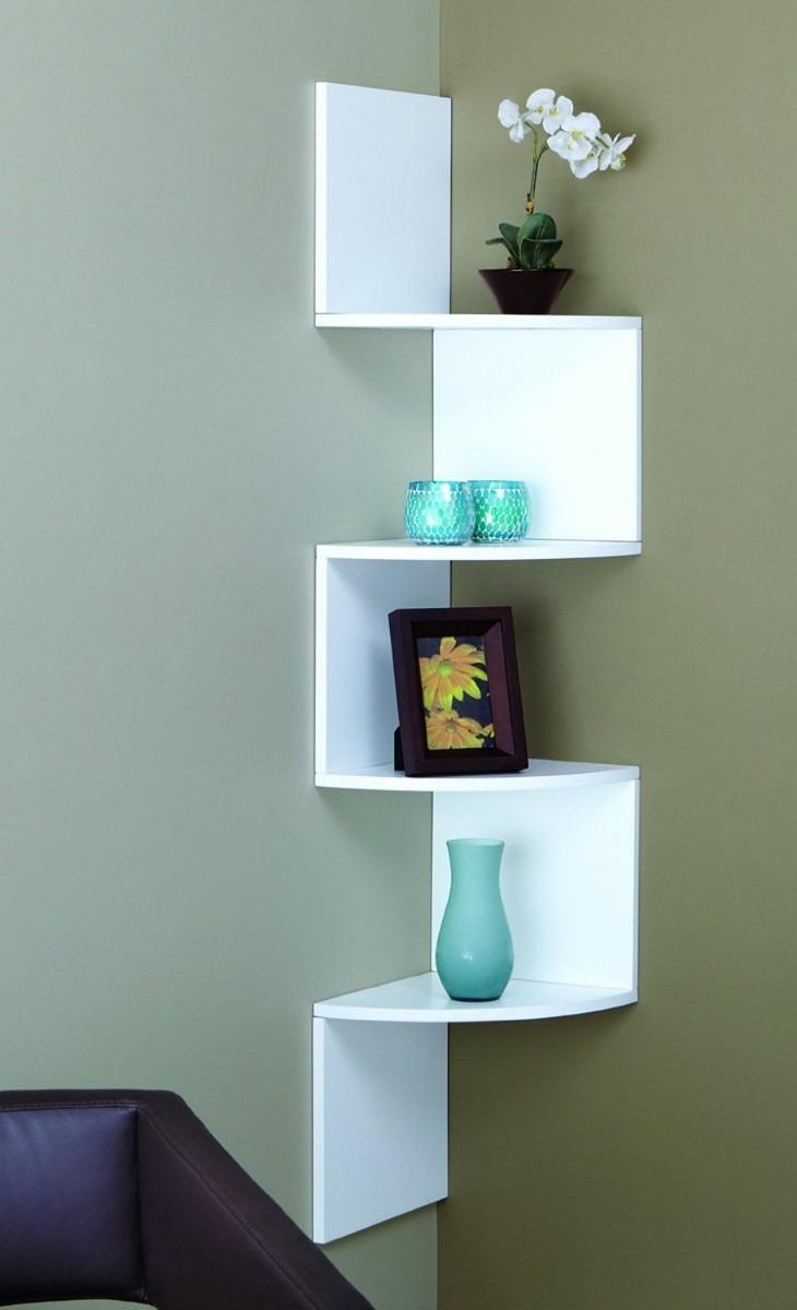 estante esquinero moderno y elegante nexxt vbf hogar