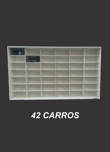 estante expositor lendas stock 42 nichos inesquecíveis 1/43