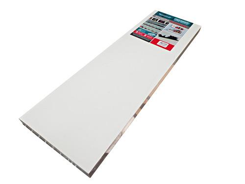 estante flotante 100 x 25cm blanco rapi-estant plc100