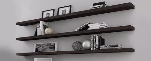 estante flotante 30 x 18cm blanco ménsula invisible incluida