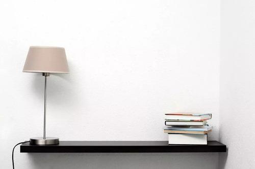 estante flotante 90 x 18cm negro ménsula invisible incluida