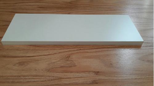 estante flotante con mensulas invisibles 50 cm x 17 cm