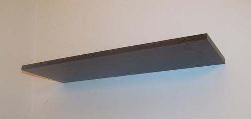 estante flotante con soportes reforzados nova