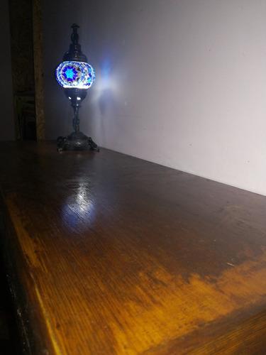 estante flotante madera barnizado hacemos a medida