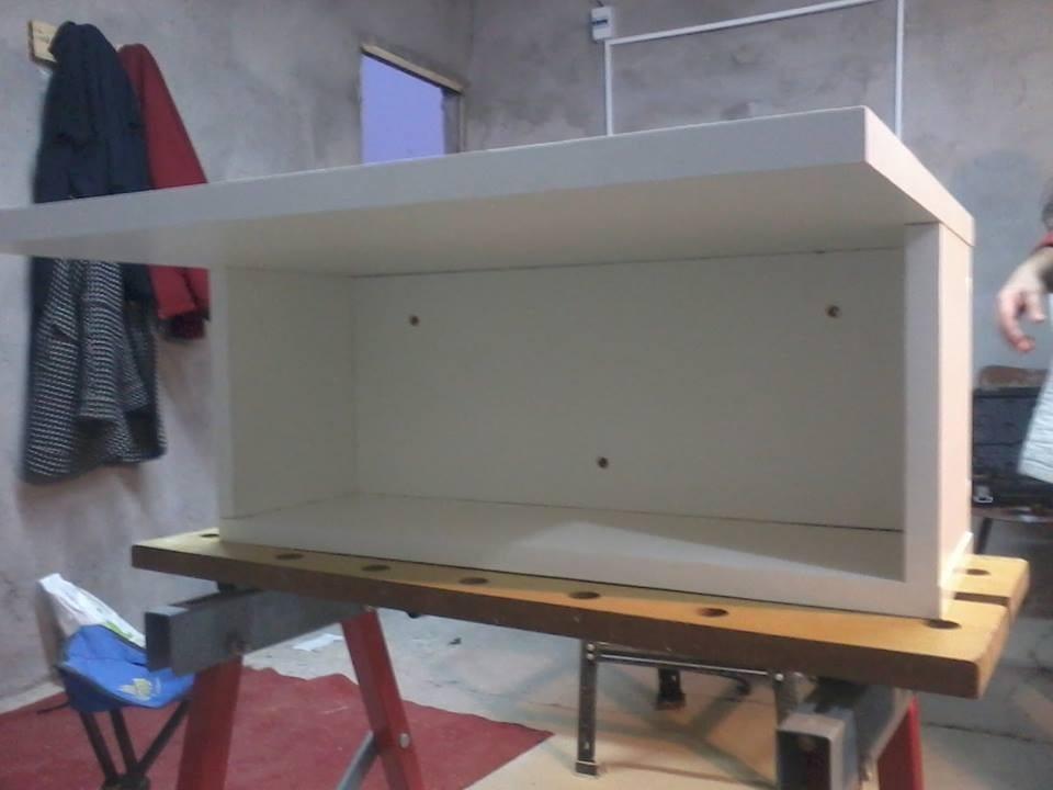 Estante flotante para microondas 980 00 en mercado libre for Repisa para microondas