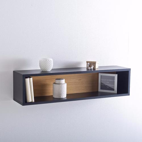 estante flotante rectangular invisible repisa 80x30x30 cm
