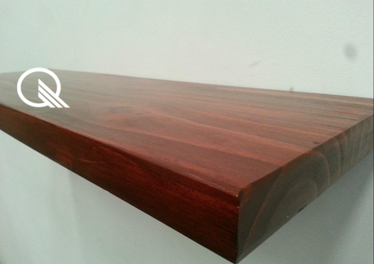 Estante madera estante en madera de roble balda u nogal - Como hacer estantes de cocina ...