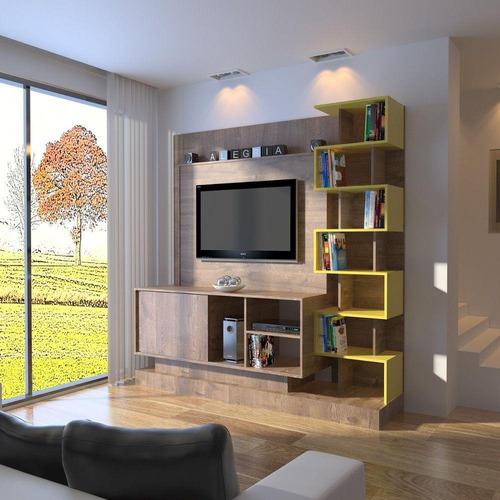 estante home móveis primavera torino h715 mdp 1 porta