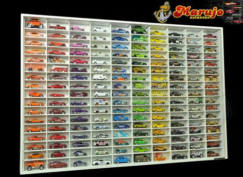 estante hotwheels 170 nichos marujo estantes maisto