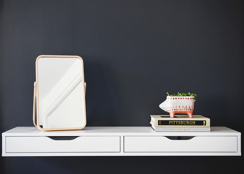 estante ikea escritorio repisa flotante