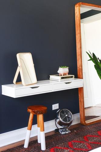estante ikea escritorio repisa flotante escandinava nordico