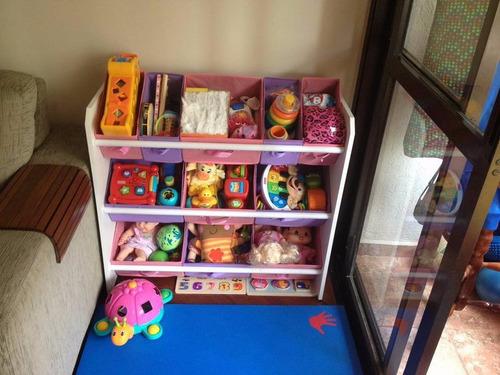 estante infantil organizador brinquedo armário  porta trecos