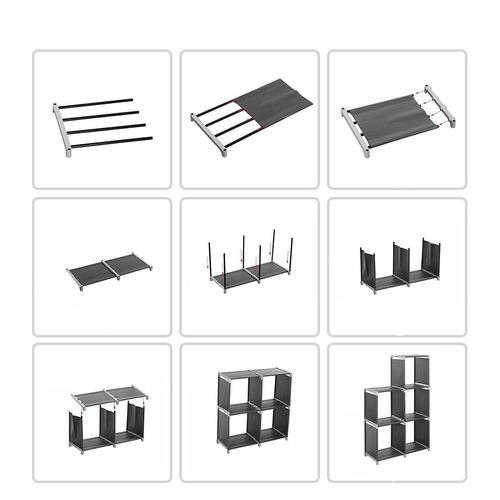 estante librero armable 5 niveles