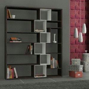 estante librero de melamine