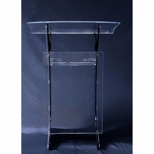 estante mesa púlpito acrílico 10mm igreja altar decoração