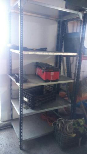 estante metálico anaquel
