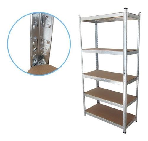 estante metálico armable, repisa 180x90x40cm 350kg