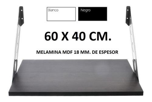estante microondas repisa horno electrico 60x40 cm bco/ng