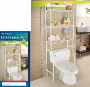 Estante Organizador Mueble Multiuso Aerocloset Para Baño - Bs. 1.000 ... 3ee25bf3410c