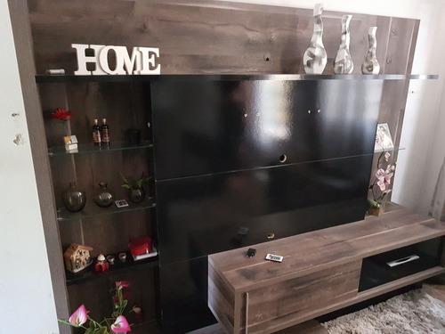 estante painel para televisão + rack
