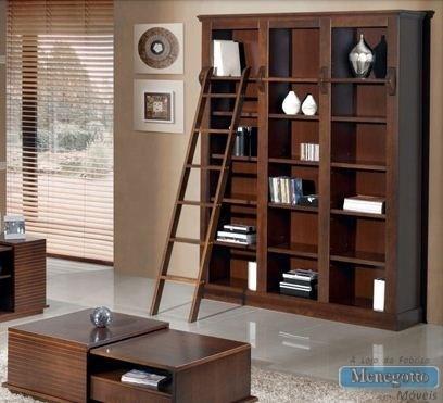 Estante para livros biblioteca com nichos em madeira - Lack estante de pared ...