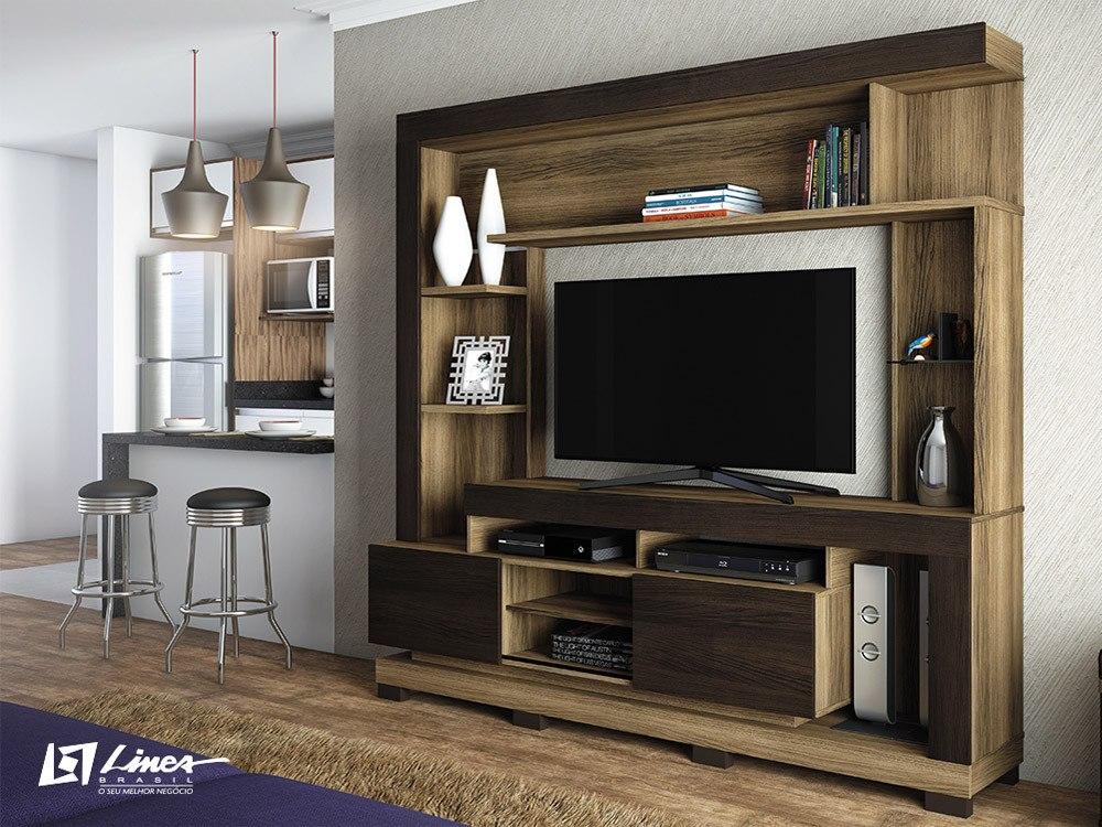 Estante para sala de tv modelo thal a em at 12x s juros - Estante para televisor ...