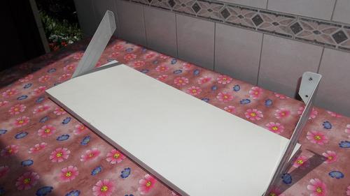 Estante 64x25cm Blanco Mensula Metalica Repisa Biblioteca -   300 0b69324e71ed