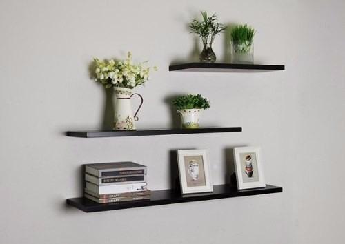estante repisa flotante decoracion 40 o 50 cm ancho x20 prof